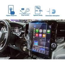 Lfotpp para ram 1500 2500 3500 uconnect 2019 navegação do carro protetor de tela vidro temperado auto interior etiqueta protetora