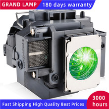 Replacement Projector Lamp ELPLP58 For EPSON EB S10 EB S9 EB S92 EB W10 EB W9 EB X9 EB X92 EB X10 with housing