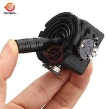 JH-D202X-R2 5K Ohm Электрический джойстик потенциометр с возвратом 2-осевой 2D мониторная клавиатура шариковый контроллер