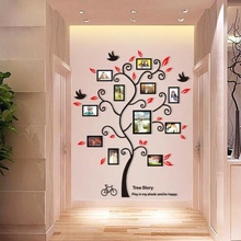 TreePhoto Frame Wall Stickers 3D FamilyTree Wall Stickers HomeDecoration