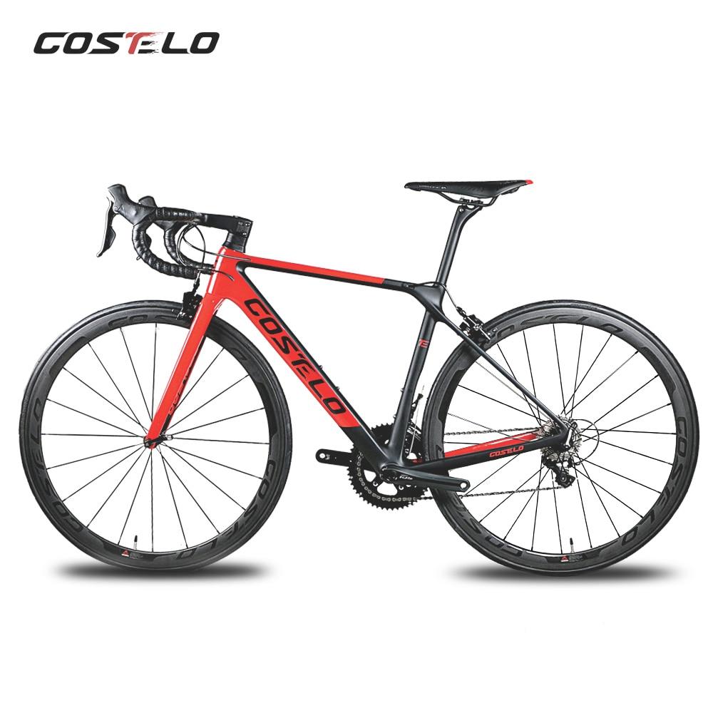2018 Costelo RIO 3.0 serat karbon penuh jalan sepeda karbon lengkap - Bersepeda - Foto 2