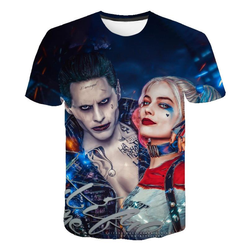 T-Shirt Harley Quinn Suicide Squad Trend 2020 Ver 2