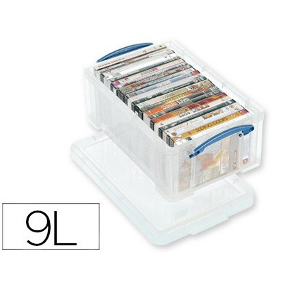 ORGANIZER ARCHIVE 2000 PLASTIC TRANSPARENT WITH TAPA9 LITER 155X255X395 MM