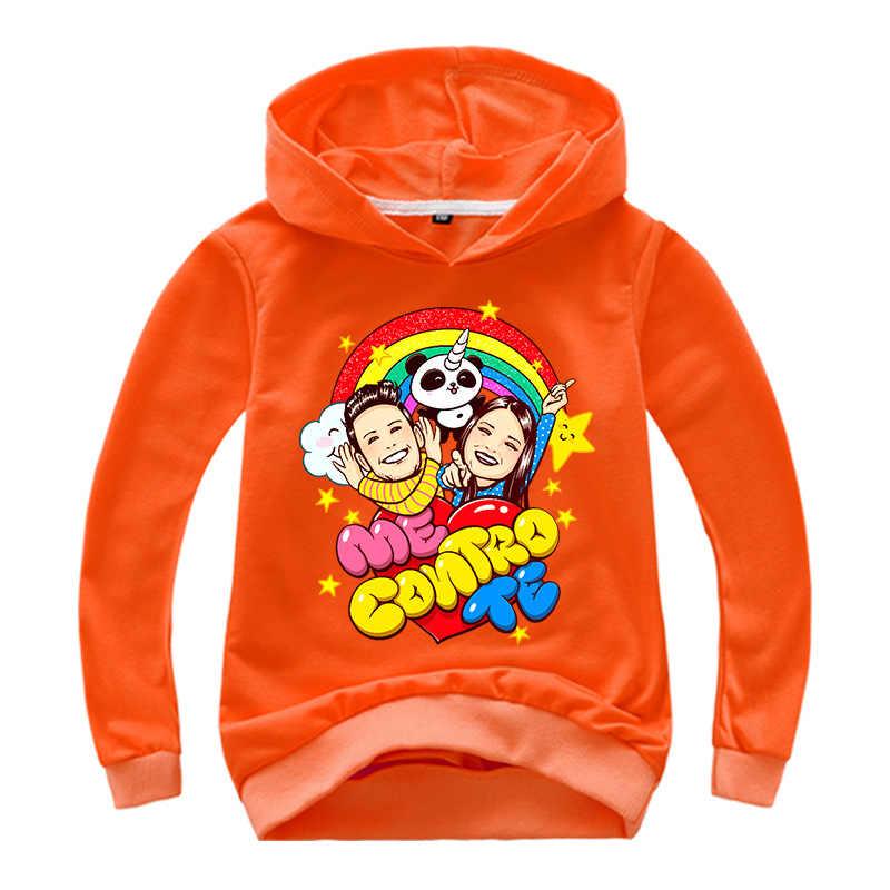 Camisetas de manga larga de algodón de primavera para bebés niños Me Contro Te Ropa para Niñas sudaderas estampadas niños sudaderas camisetas chico