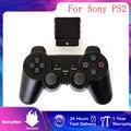Беспроводной геймпад для Sony PS2, контроллер для консоли Playstation 2, джойстик с двойной вибрацией, USB, ПК, игровой контроллер