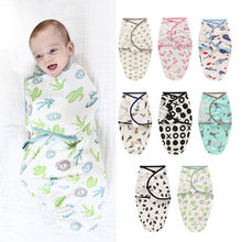 Спальный мешок для новорожденных милая мультяшная пеленка с