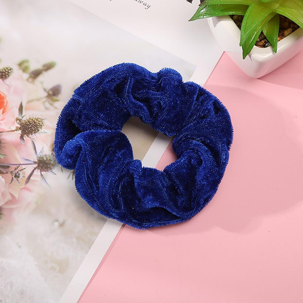 1 Pcs Velvet Elastic Hair Bands for Women or Girls Hair Accessories in Women 39 s Hair Accessories from Apparel Accessories