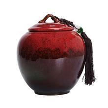 Urna pogrzebowa dla dorosłych popiołów ludzkie duże i średnie urny pamiątkowe ceramika Keepsake urna pogrzebowa w domu lub cmentarzu lub niszy