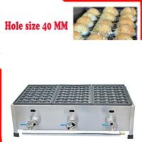 free shipping~ Gas type Japanese Octopus Ball Takoyaki machine fish ball maker