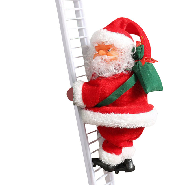 Climbing Santa Christmas Hanging Decoration
