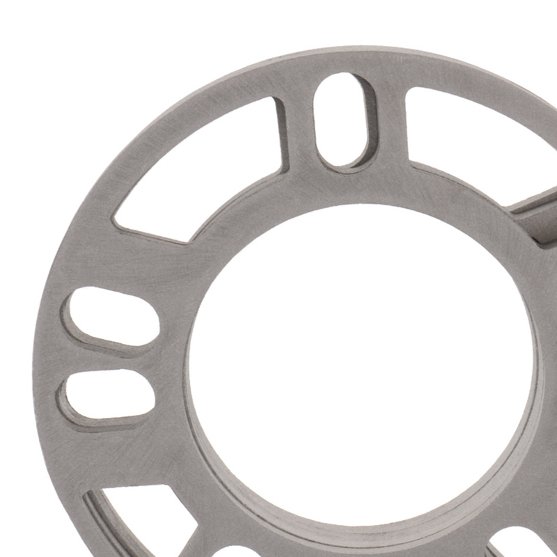 Image 5 - 4 Pcs 5mm Car Wheel Spacer Shims Plate 4 5 STUD Universal For Auto 4x100 4x114.3 5x100 5x108 5x114.3 5x120 Etc Car Accessories-in Tire Accessories from Automobiles & Motorcycles