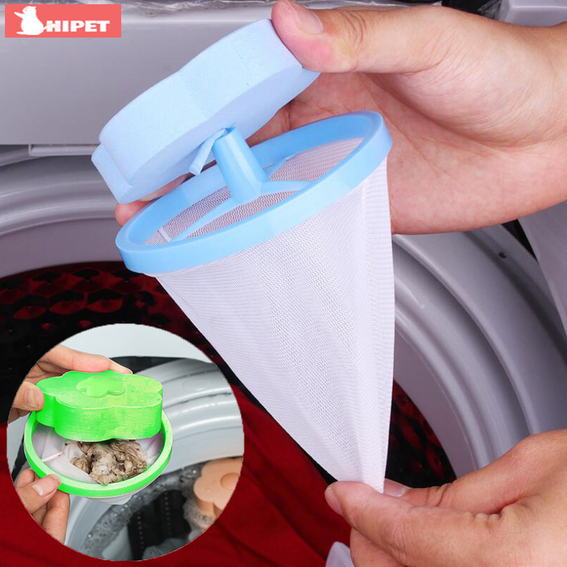 Washing Machine Filter Bag Pet Hair Catcher Mesh Pouch Clothes Cleaning Protection Dog Cat Fur Hair Catcher Washer Cleaning Bag