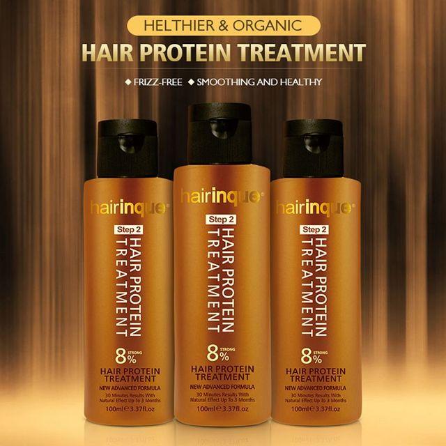 8% شعر كيراتين برازيلي مكيف البروتين العلاج 24K الذهبي العلاج ل استقامة إصلاح التالفة السلس قشرة الرأس 1