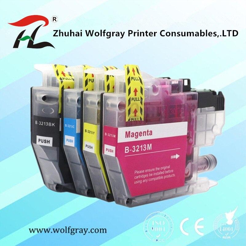 Совместимый картридж с чернилами LC3211 LC3213 3213XL для Brother DCP-J772DW DCP-J774DW MFC-J890DW MFC-J895DW Injet принтер
