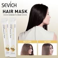 Sevich 10pcs/box Hair Mask Keratin Repair Dry Damaged Replenishment Anti Hair Loss Argan Oil Hair Repair Mask For Moisturizing 6