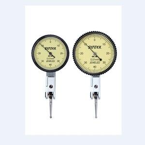 Image 1 - Draagbare 0.01mm Hendel Indicator Schokbestendig Dial Test 0 0.8mm Dial Gauge Analoge Display Indicator Micrometer Meten gereedschap