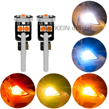 KEIN 10 Uds CANBUS T10 Led W5w Led T10 No polaridad 194 168 piezas dobles de aluminio radiando cuña lateral luz Blub lámpara LED de coche