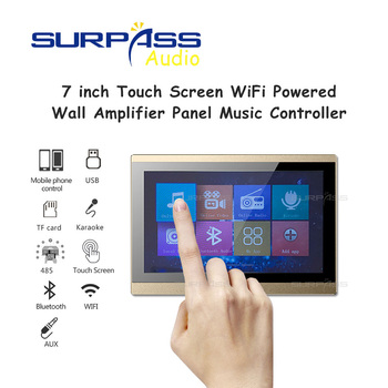 7inch Full Touch Screen Wired WIFI Network HDMI Video Output Bluetooth Smart Home Background Music System