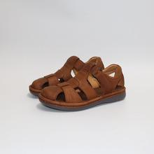Rzymskie sandały męskie pokryte sandalsLight i wygodne męskie buty nowe letnie klapki dla mężczyzn tanie tanio keerygo Prawdziwej skóry Skóra bydlęca Gladiator Świnia skóra MATURE Hook loop Niska (1 cm-3 cm) Fabric Pasuje prawda na wymiar weź swój normalny rozmiar