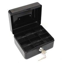 Professional Lockable Cash Coin Money Storage Safe Security Box Holder Suitcase