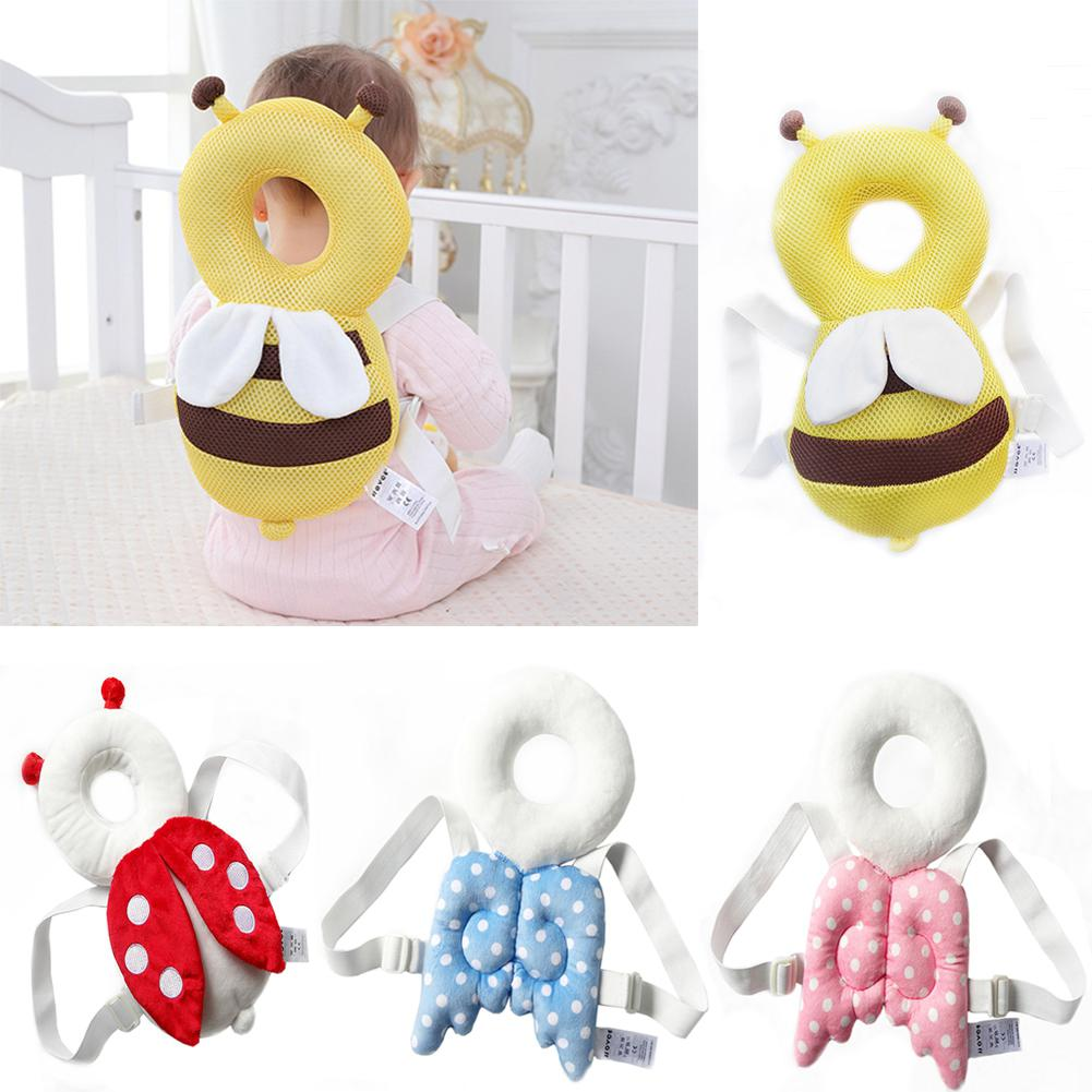 HobbyLane Cute Wings Nursing Drop Resistance Cushion Baby Head Protection Pad Toddler Headrest Pillow Baby Neck