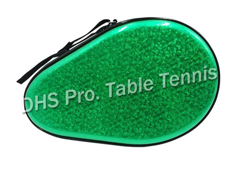 Professional Gourd Table Tennis Case Hard PU Waterproof Table Tennis Racket Bag Table Tennis Accessories