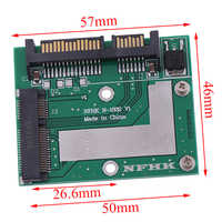 Adaptador de placa modular Convertidora de tarjeta Mini Pcie SSD, MSATA Ssd a SATA 6.0gps de 2,5 pulgadas, venta al por mayor, 2020