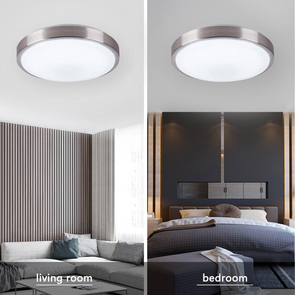 Lustre led para teto, luminária de teto