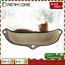 Mèo Võng Giường Gắn Cửa Sổ Pod Lửng Ống Hút Ấm Giường Nhỏ Lớn Mèo Cưng Còn Lại Nhà Mặt Trời Treo Tường giường Mềm Chồn Lồng