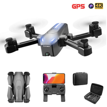 S176 Drone GPS Optical Flow 4K RC Drone With Camera WIFI FPV Dron With Wide Angle HD Camera Height Hold Mode Foldable Quadcopter