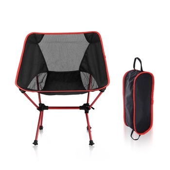Folding Chair Portable Ultralight Aluminum Alloy Moon Chair Leisure Camping Fishing Chair Garden Office Home Furniture