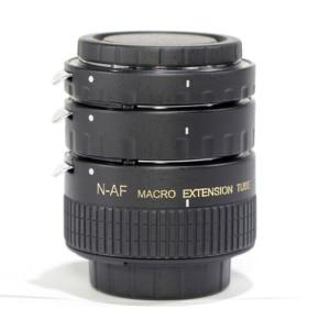 Image 2 - Pixco Nikon Metal Auto Focus Macro Extension Tube Set MK N AF1 A 12+20+36mm