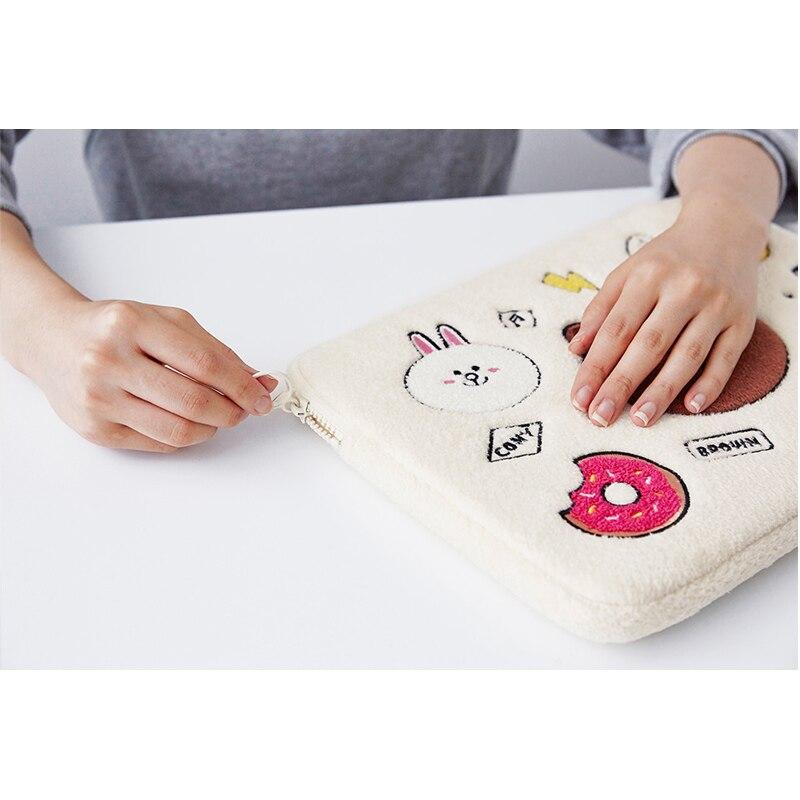 Милый чехол для ноутбука с животным принтом, рукав 10 11 12 13,3 14 15 15,6 дюймов, сумка для ноутбука, чехол для Macbook air pro 13