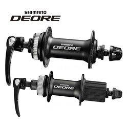 Juego de ruedas de montaña Shimano Deore M615, cerradura de tamaño medio, cerradura Central de bicicleta de montaña con 32 orificios y flores
