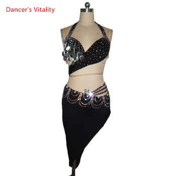 2018 Tassel Latin Dance Dress Women Top Harness Style Back Opening Salsa Tango Rumba Flamengo Latin Dance Competition Costumes - DISCOUNT ITEM  10% OFF All Category