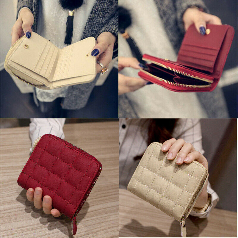 Hot Women's Short Small Wallet Lady Leather Folding Coin Purse Card Holder  New