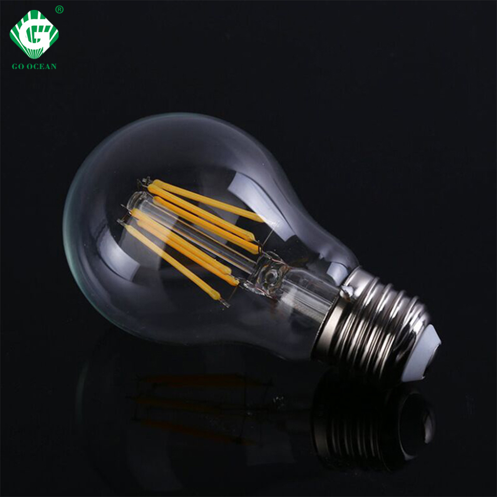 6W LED Bulb E27 For Indoor Outdoor Wall Light Night Lighting LED Lamp Source Filament Bulbs Sconce 1pcs