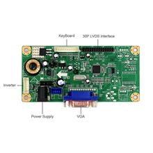 Yqwsyxl vga lcd controlador placa de trabalho para 12.1 polegada lq121k1lg54 lq121k1lg58 1280x800 lcd tela rt2270 placa motorista