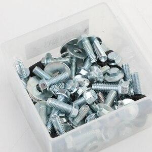 Image 2 - Artudatech corpo plásticos quadro do assento parafuso kit apto para yamaha yz yzf wr 85 125 250 400 450 acessórios da motocicleta peças