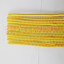 freeshipping 0.5 0.75 1.0 1.5 2.5 4.0 6.0 10.0 16 25 35 mm2 yellow cable marker plum tubing 0-9 different number freeshipping 0 5mm2 10mm2 12 different number 0 9 print cable marker sleeving set