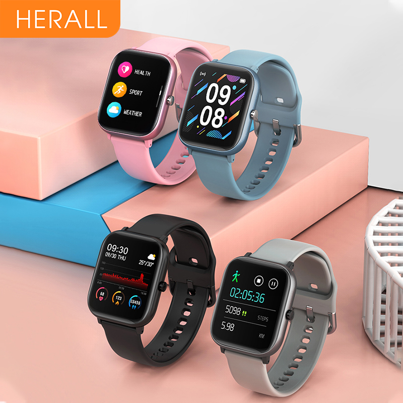2020 HERALL Smart Watch Men Women's Watches Sport Smartwatch Fitness Bracelet Heart Rate Monitor For Android Xiaomi Apple Huawei 1