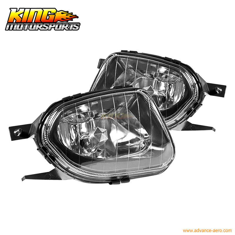 Fit For 03 04 05 06 Mercedes-Benz E-Class W211 Fog Lights Clear E320 E500 Lamps USA Domestic Free Shipping Hot Selling
