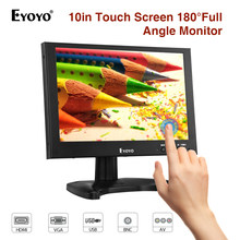 "EYOYO EM10G 10"" IPS LED Screen FHD 1920x1200 BNC LCD Touch Monitor With VGA AV HDMI USB for Home CCTV Camera DVD PC FPV Display(China)"