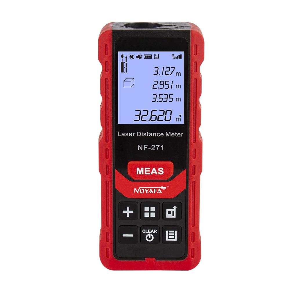 Noyafa NF-271 лазерный дальномер 50 м 70 лента дальномера дальномер измеритель прибор цифровой Линейка Тесты инструмент