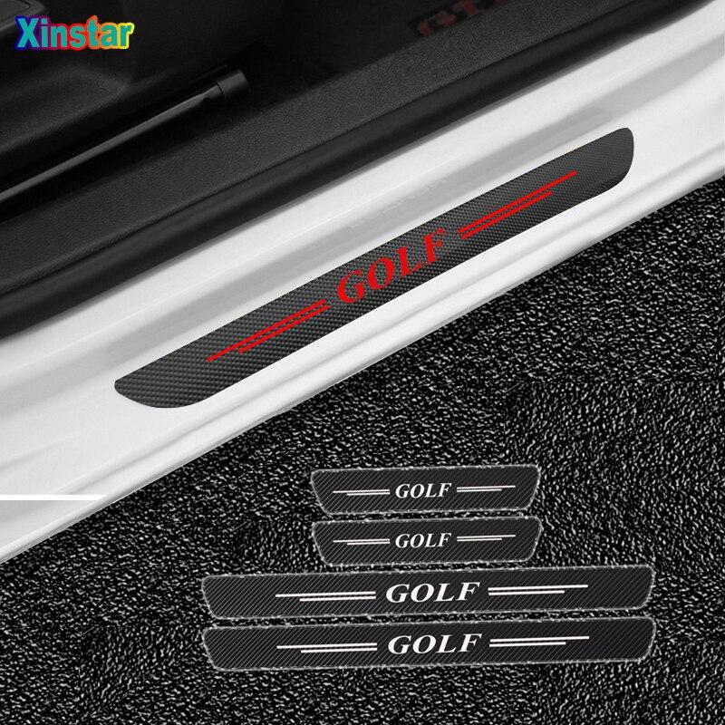 4 шт./лот, Новые защитные наклейки на двери автомобиля из углеродного волокна для volkswagen VW JETTA MK3 MK4 MK5 MK6 MK7 Bora