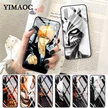 YIMAOC bleach ichigo hollow Mask Top Detailed Glass Case for Xiaomi Redmi 4X 6A note 5 6 7 Pro Mi 8 9 Lite A1 A2 F1