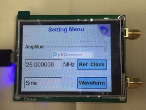 Image 3 - 35 4400M ADF4351 ADF4350 RF signal source Signal generator wave / Point frequency sweep touch screen LCD display control