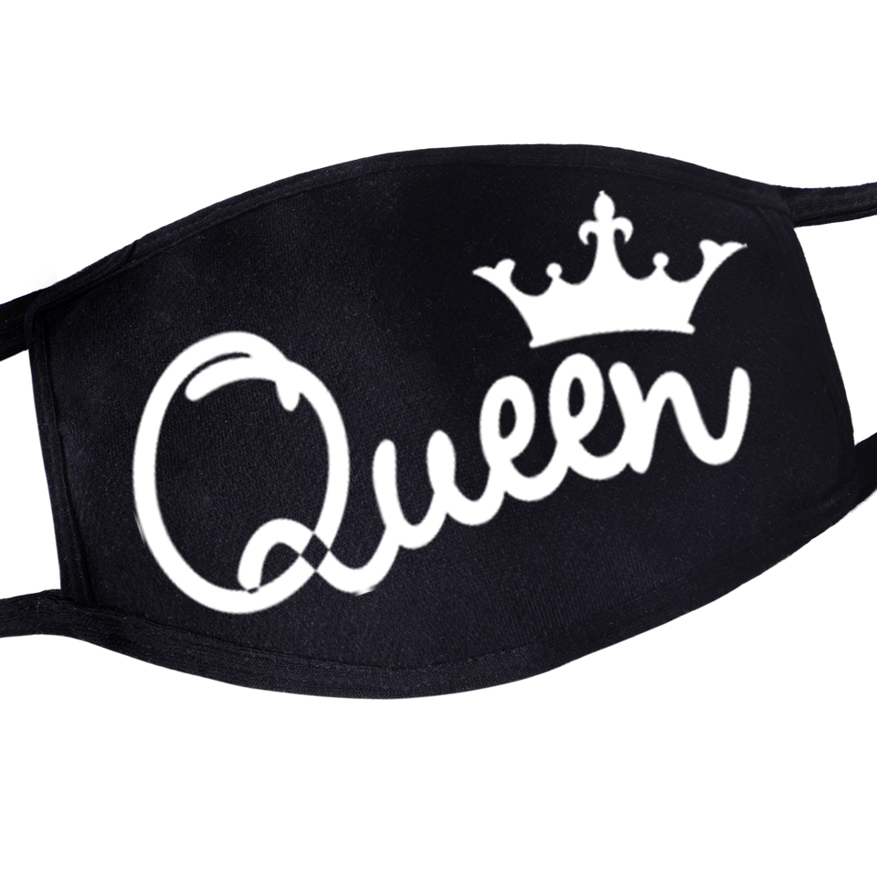 Fashion You Are Queen For Womens Mouth Masker Fashion Mascarillas Kpop Washable Reusable Proof Flu Mask 2020 Earloop Mascherine