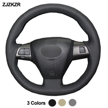 Car Auto Steering-Wheel Cover For Toyota Corolla 2011-2013 RAV4 2011 2012 Volant 2012 Braid on the Steering wheel Funda Volante