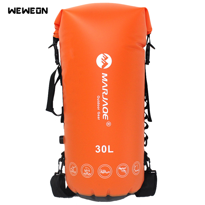 30L Waterproof Diving Rafting Dry Bags Storage Swimming Dry Sack Bag With PVC Sealed For Trekking Portable Backpack